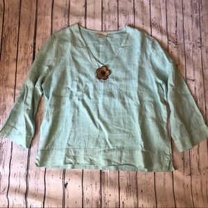 Hot Cotton Linen tunic